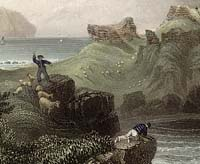 Engraving of AIlsa Craig