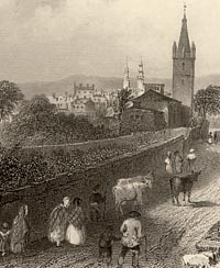 Engraving of Dumfries