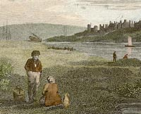Engraving of Gorleston