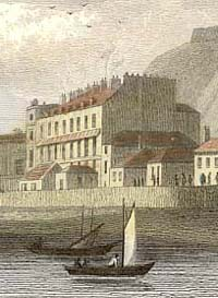 Engraving of Hastings