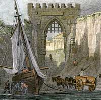 Engraving of Kingsgate, Thanet