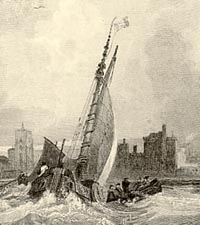 Engraving of Liverpool