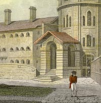Engraving of Maidstone Gaol