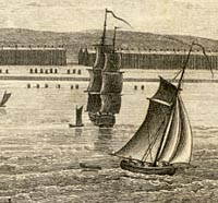 Engraving of Weymouth