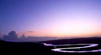Cuckmere river, sunset