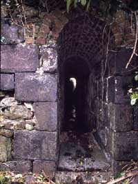Smuggling tunnel at Hayle