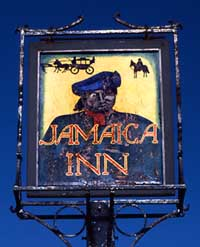 Jamaica Inn pub sign