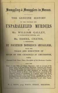 Title page of Sussex Smugglers
